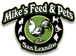 Mike's feed & Pets logo